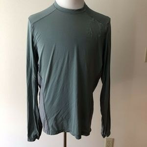 Lululemon wet dry warm mint green T - mens